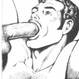 Obscene comics, hard sex and BDSM - gay hentai.  - Gay Comics Gallery